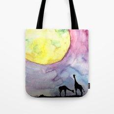 A full moon Tote Bag