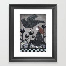 Parting Framed Art Print