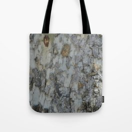 TEXTURES -- California Sycamore Bark Tote Bag