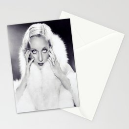 Classic Carole Lombard Stationery Cards