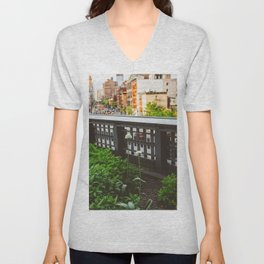 Highline Blooms Unisex V-Neck