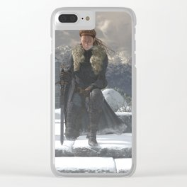 Valiant Clear iPhone Case