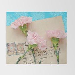 The Love Letter Throw Blanket