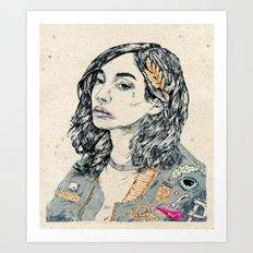 Team R.I.P Art Print