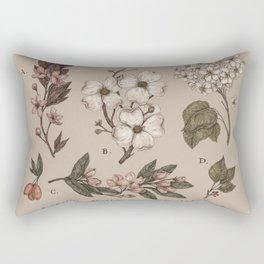 Flowering Spring Trees Rectangular Pillow
