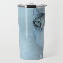 Revina the Cat with the Precious Face Travel Mug