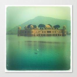 Jaipur Water Palace Canvas Print