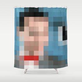 Peewee Pixels Shower Curtain