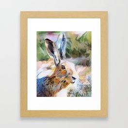 Harry Hare Framed Art Print