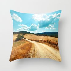 I LOVE TUSCANY Throw Pillow