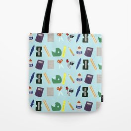 Back to School Supplies Tote Bag