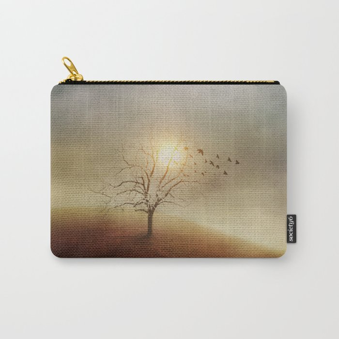 Lone Tree Love I Carry-All Pouch