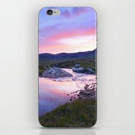 Sunset at Kungsleden iPhone Skin