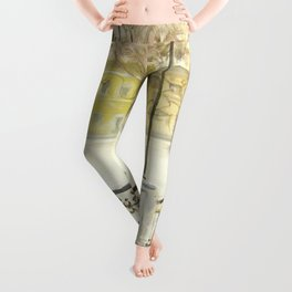Locks on Little Lovers Bridge Leggings