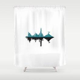 Middle Hertz Shower Curtain