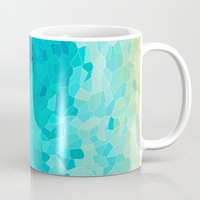waves Mugs featuring INVITE TO BLUE by Catspaws