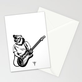 AniMusic (Bear) Stationery Cards