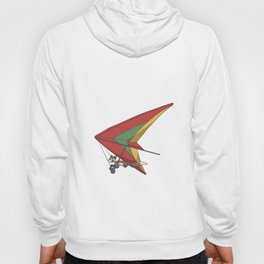 Squirrel in a hang glider Hoody