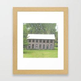 The old barn Framed Art Print
