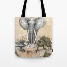 Council of Animals Tote Bag