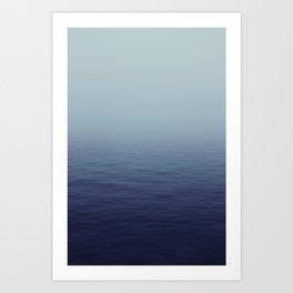 Brouillard Art Print