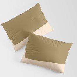 Minimal abstract geometric painting Pillow Sham