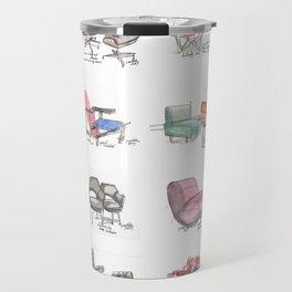 Classic Chair Designs Travel Mug