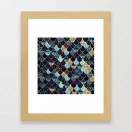 REALLY MERMAID - MYSTIC BLUE Framed Art Print