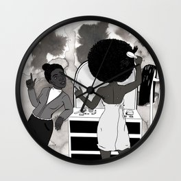 Sister, don't bother me! Wall Clock
