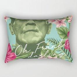 Oh Frankie darling - The Franktiki Rectangular Pillow