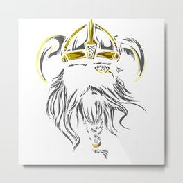 Viking Spirit Metal Print