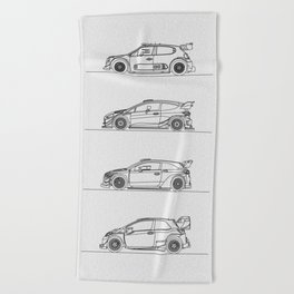 WRC 2017 Beach Towel
