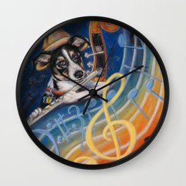 Jazz to the Bone Wall Clock