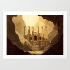 Ancient Ruins Art Print