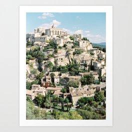 Gordes France Art Print