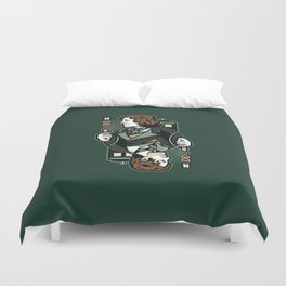 8th of Hearts Duvet Cover