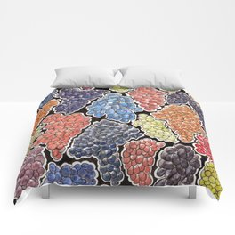 Grapes for wine lovers! Comforters