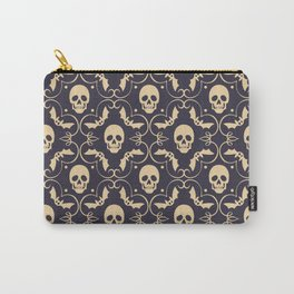 Happy halloween skull pattern Carry-All Pouch
