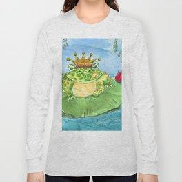Frog King Long Sleeve T-shirt
