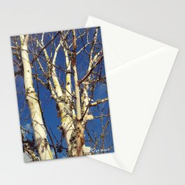Reach for the sky together Stationery Cards
