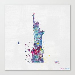 Statue of Liberty - New York Canvas Print
