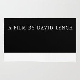 A film by David Lynch Rug