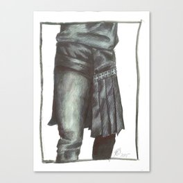 Menswear II Canvas Print