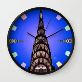 The Chrysler Clock Wall Clock