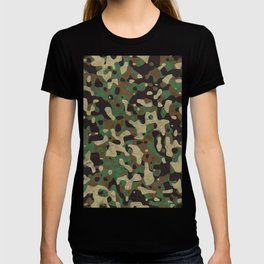 Distressed Army Camo T-shirt