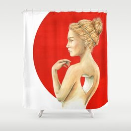 Vacancy  Shower Curtain