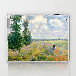 Poppy Fields near Argenteuil by Claude Monet Laptop & iPad Skin