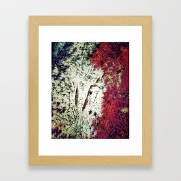 To Camouflage in Happiness #SWIM Framed Art Print