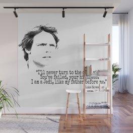 Luke´s Quote Wall Mural
