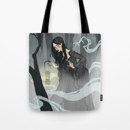 What Lies in the Mist Tote Bag